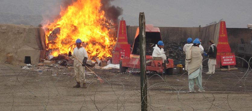 Texas Lawmakers Approve Burn Pit Registry